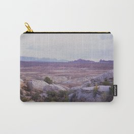 Panoramic of Arches National Park Carry-All Pouch