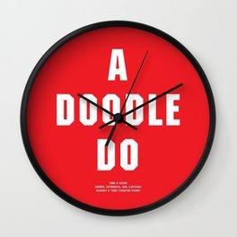 Howlin' Mad Murdock's 'A Doodle Do' shirt Wall Clock