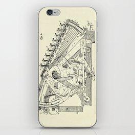 Calculating Machine-1888 iPhone Skin