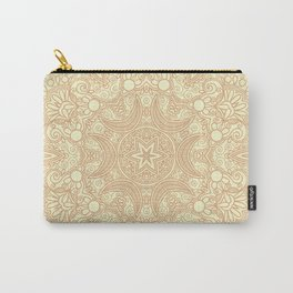 Gloria Tumbleweed Mandala With Corn Field Backdrop Carry-All Pouch