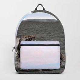 Black Sand Color Sky Backpack