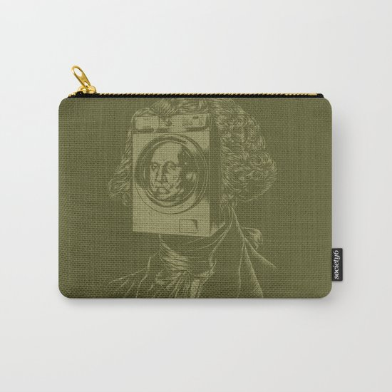 George WASHINGton Machine Carry-All Pouch