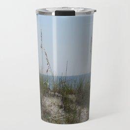 Sunny Beach Day Travel Mug