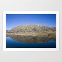 Lake Clearwater, one Art Print