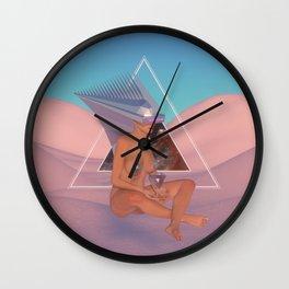 Chrome Atari Wall Clock