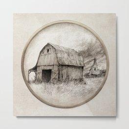 Old Barn Metal Print