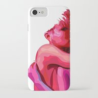 women iPhone & iPod Cases featuring women by veronica ∨∧
