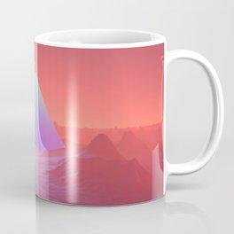 Blue Pyramid Coffee Mug