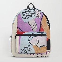 Matisse Exhibition - Aix-en-Provence - The Dream Artwork Backpack
