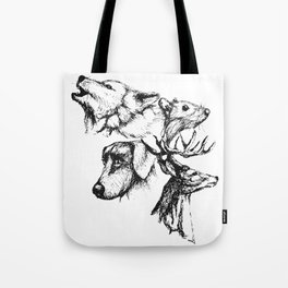 Moony Wormtail Padfoot Prongs Tote Bag