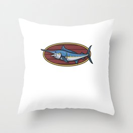 Reel Moms Love Fishing - Mom Fishing Throw Pillow