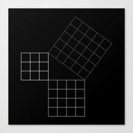 Pythagoras Theorem Canvas Print