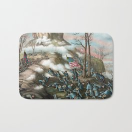 Battle of Lookout Mountain -- Civil War Bath Mat