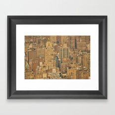 From the Rooftops of the World Framed Art Print