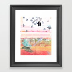 Only Foundations Remain Framed Art Print