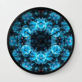 Deep Sea Mandala Wall Clock
