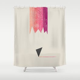 Drawing Inspiration Shower Curtain