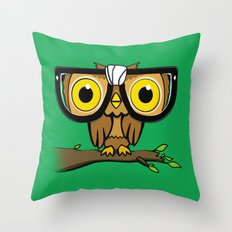 The Little Wise One Throw Pillow