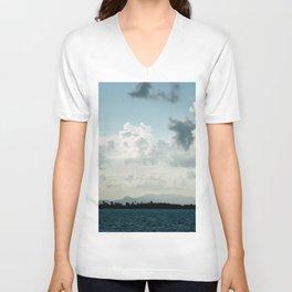 Tropical Paradise Unisex V-Neck
