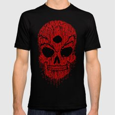 The Bloody Bloodskull of Blood Black Mens Fitted Tee MEDIUM