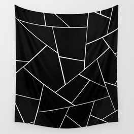 Black White Geometric Glam #2 #geo #decor #art #society6 Wall Tapestry