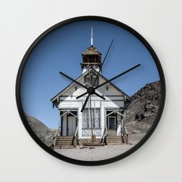 CALICO SCHOOLHOUSE Wall Clock