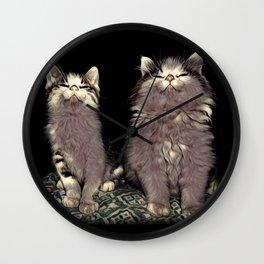 Otis & Oscar Wall Clock