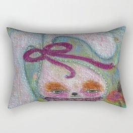 Tabitha Rabbit - Whimsies of Light Children Series Rectangular Pillow