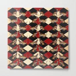 De Grassi Cheetah Pattern II Metal Print