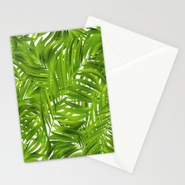 Tropical Palms Pattern Stationery Cards