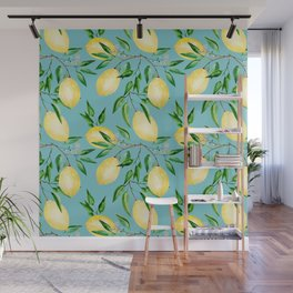 Lemon mood.1 Wall Mural
