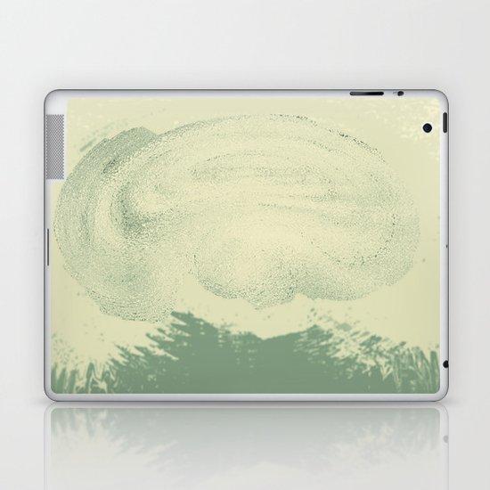 Let Your Mind Wander (Green) Laptop & iPad Skin