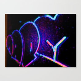 Working with words Canvas Print
