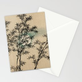 Bamboo Branches Traditional Japanese Flora Stationery Cards