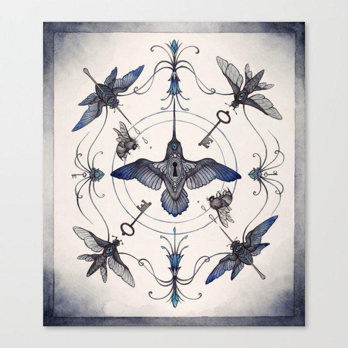 Pollinators Canvas Print