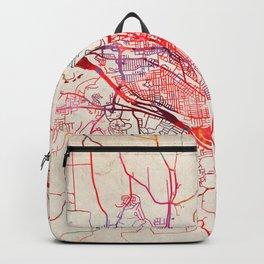 Binghamton map New York NY Backpack
