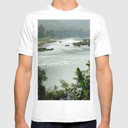 Mekong River Tropical Forest Landscape, Laos T-shirt