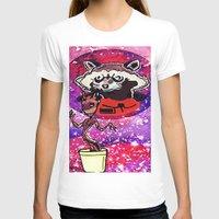 superheros T-shirts featuring Buddies by grapeloverarts