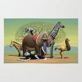 Skin-Swap Safari Rug