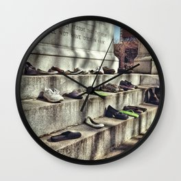 making a statement Wall Clock