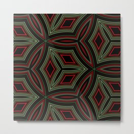 Red Eye - Redefined 1 - Tilework Metal Print