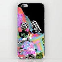 gun iPhone & iPod Skins featuring Loaded Gun by Tyler Spangler