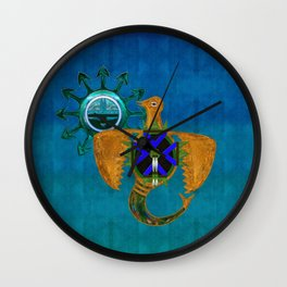 Of Sky Native American Wall Clock