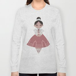 Traje Tipico de Nuevo León Long Sleeve T-shirt