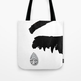 Crying Girl Tote Bag