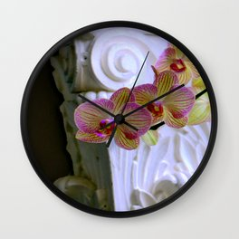 An Order Of Corinthian For Here Wall Clock