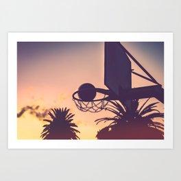 basketball hoop 1 Art Print