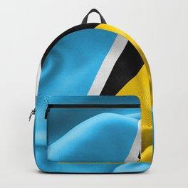Saint Lucia Flag Backpack