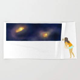 Museum Beach Towel