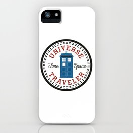 Doctor Who Converse Time Traveller iPhone Case